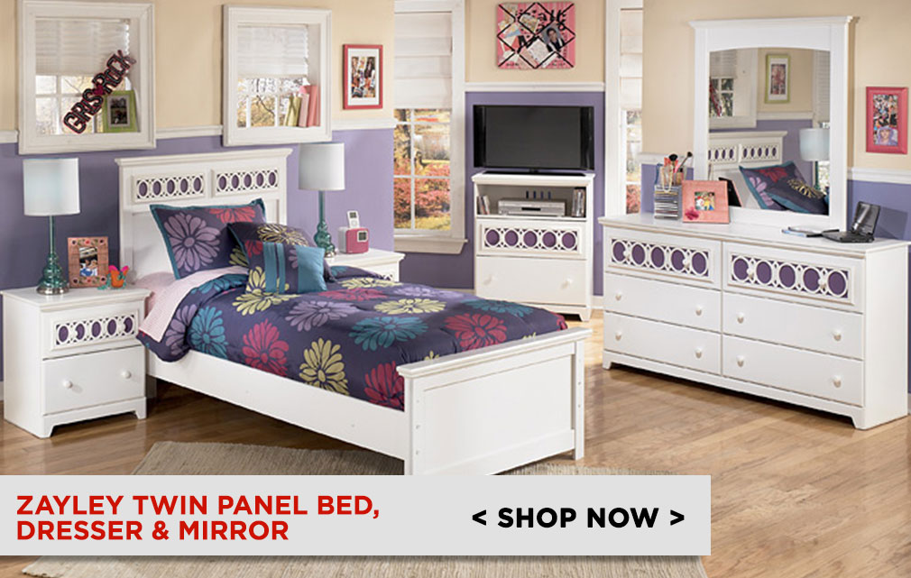 Hayley Youth Panel Bed